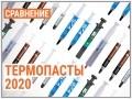 Сводное тестирование термоинтерфейсов в 2020 году