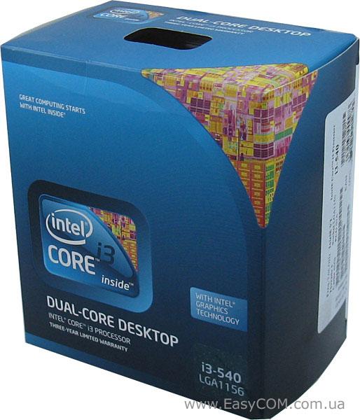 Intel core i3 540 драйвера