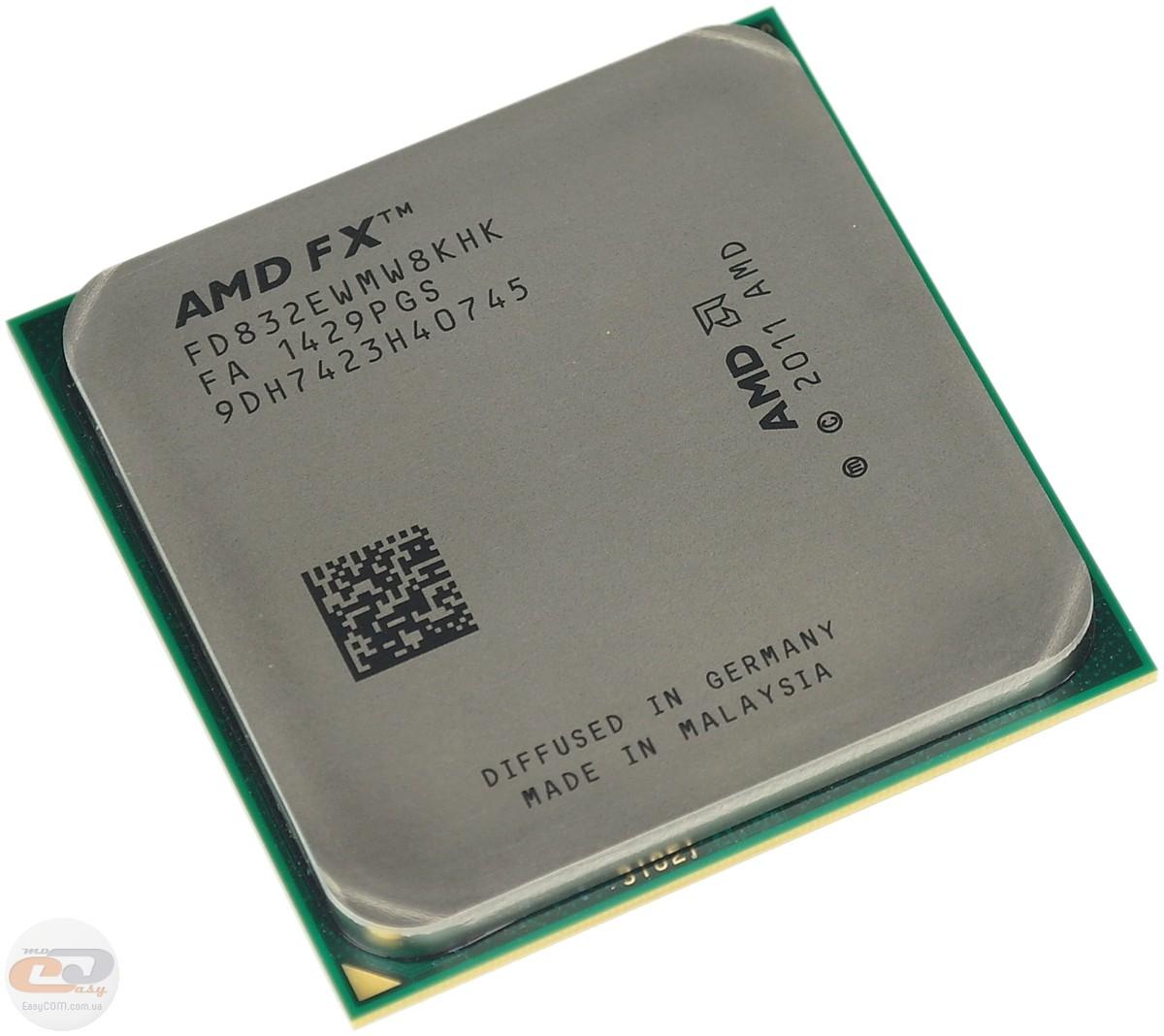 Обзор и тестирование процессора AMD FX-8320E. GECID.com