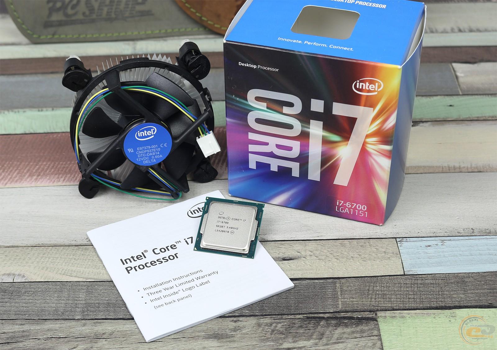 Обзор и тестирование процессора Intel Core i7-6700. GECID.com
