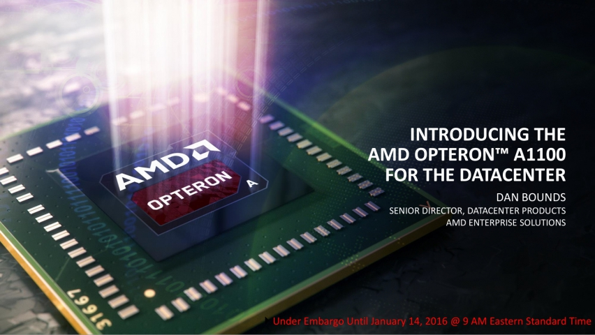 AMD Opteron A1100