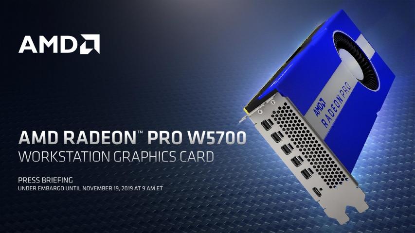 AMD Radeon Pro W5700