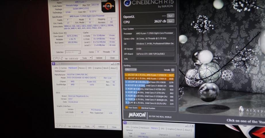 AMD Ryzen 7 2700X-3