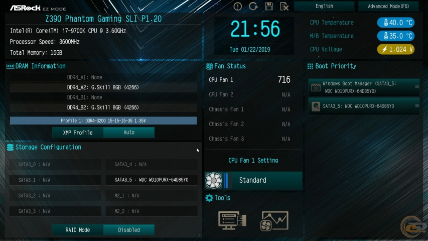 ASRock Z390 Phantom Gaming SLI