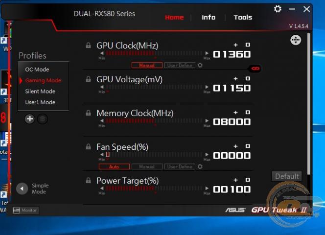 ASUS Dual Radeon RX 580 OC Edition 8GB