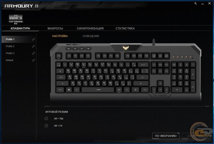 ASUS TUF Gaming K5-3