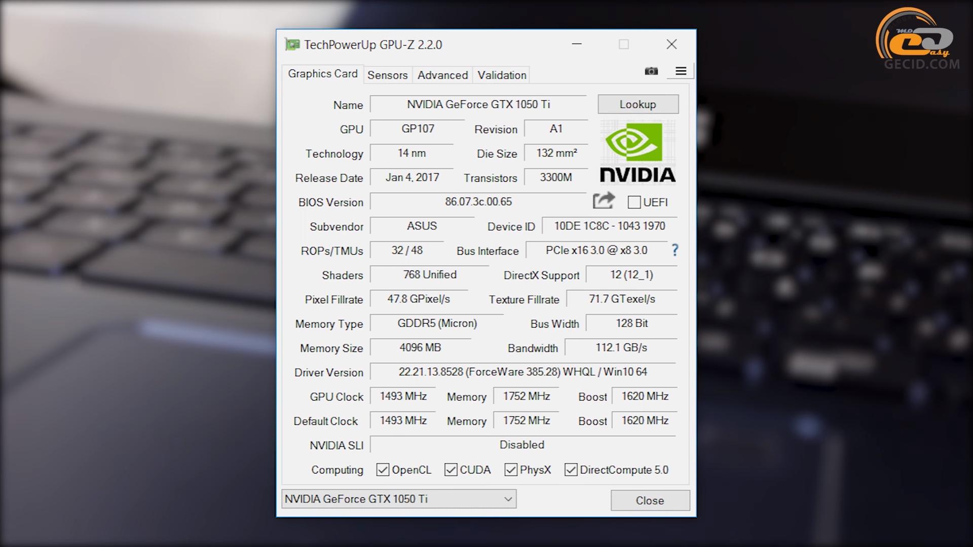 Cравнение поколений игровой мобильной графики NVIDIA GeForce
