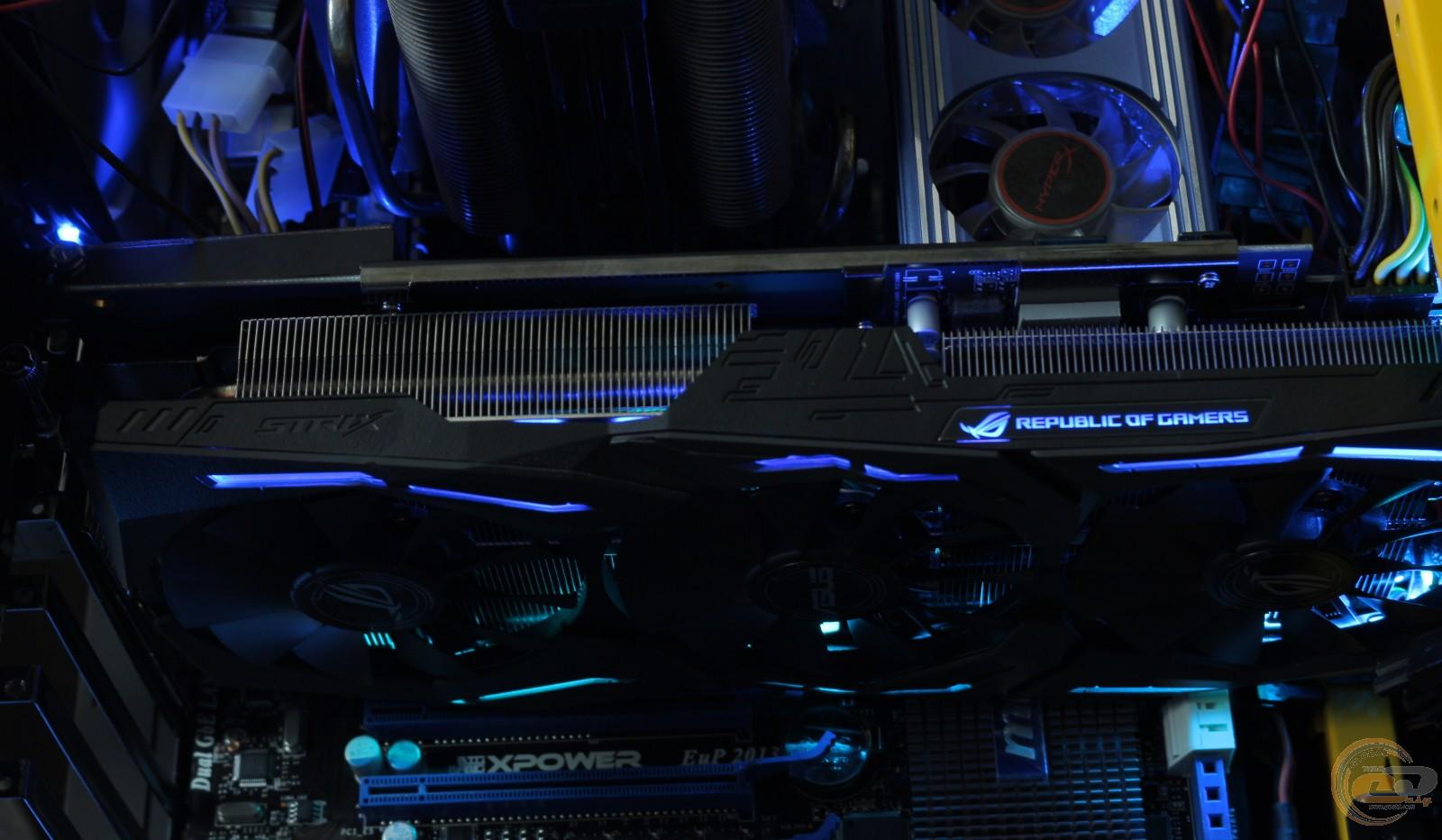 Обзор и тестирование видеокарты ROG STRIX Radeon RX 580 OC Edition