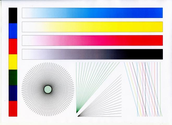 Тестовая цветная картинка