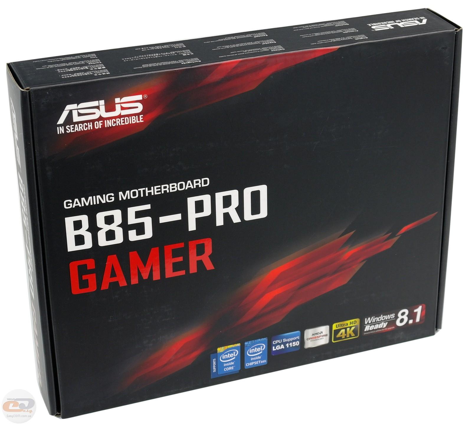 Asus B85 Pro Gamer Driver Download