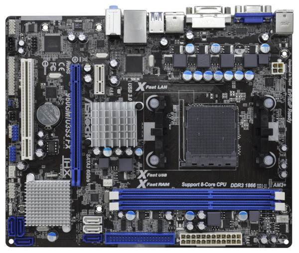 Asrock 960GM/U3S3 FX XFast USB Windows 8 X64