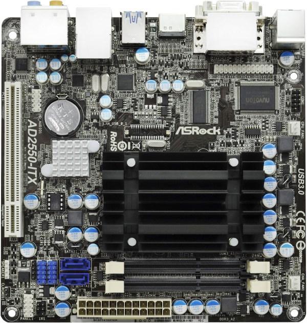 ASROCK AD2550-ITX XFAST DRIVER
