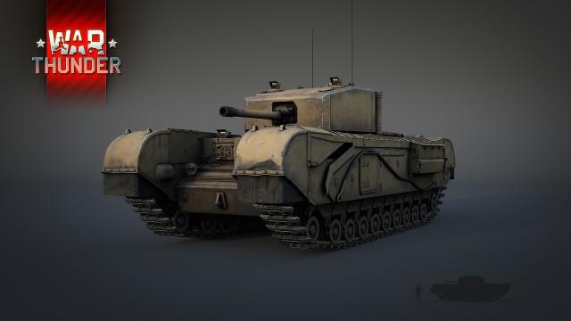 ветка британских танков появится в War Thunder новости Gecidcom