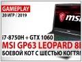 Конфігурація ноутбука Intel Core i7-8750H/GeForce GTX 1060: тестування в іграх