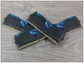 RAM kit GeIL SUPER LUCE BLUE 3400MHz Quad Channel GLB416GB3400C16AQC: review and testing
