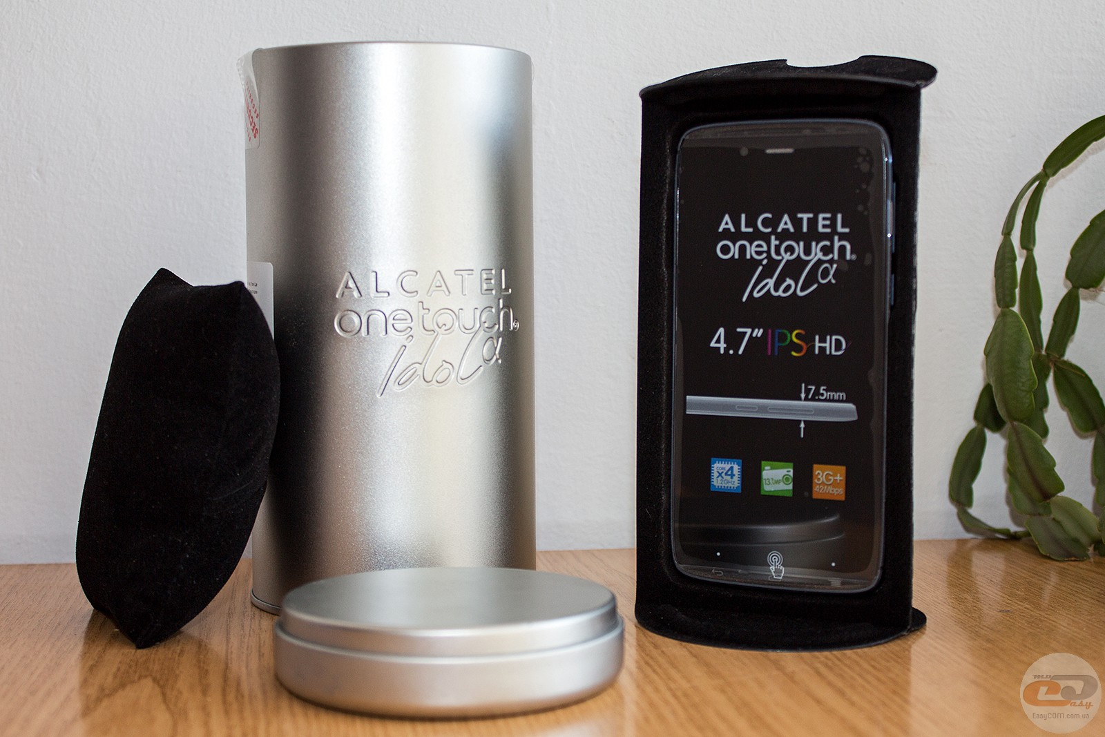 ALCATEL ONETOUCH IDOL ALPHA smartphone: review and testing ...