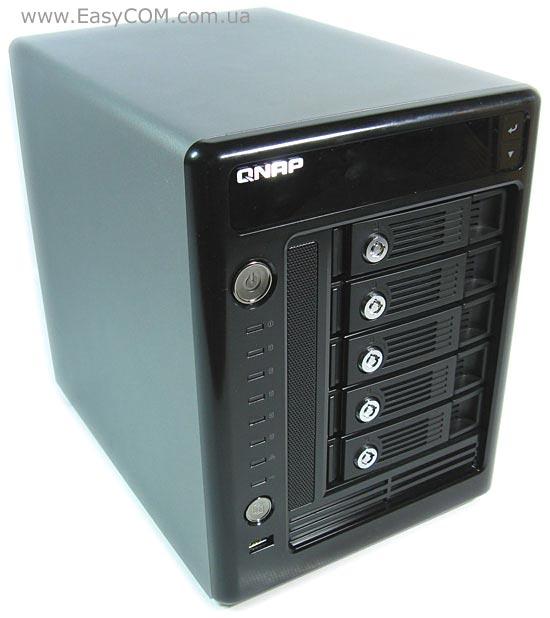 Обзор многофункционального сетевого хранилища QNAP TS-509 Pro