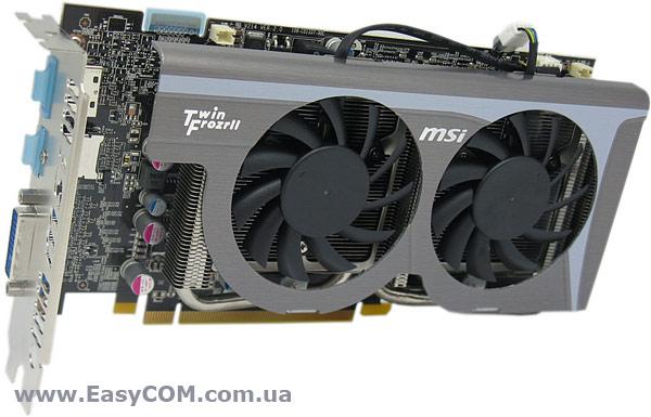 Обзор и тестирование видеокарты MSI Radeon HD 6770 Twin