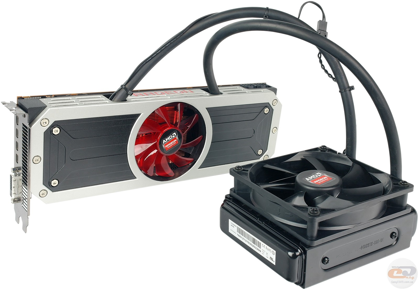 AMD Radeon R9 295X2 graphics card: review and testing. GECID.com