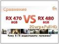 Порівняння Radeon RX 470 8GB vs Radeon RX 480 8GB: кому ці 8 ГБ корисніші?